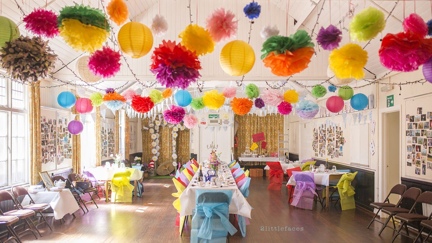 how to make a party room