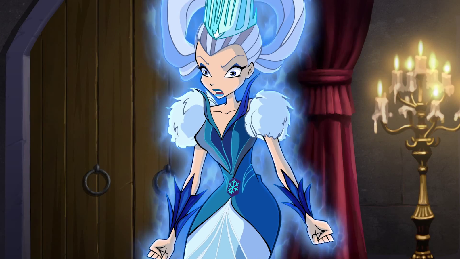 winx club fairies icy the ice queen season 6 episode 17