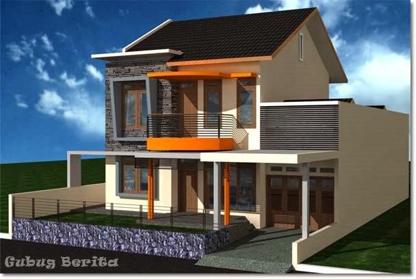gambar rumah 2 tingkat home minimalis 2014
