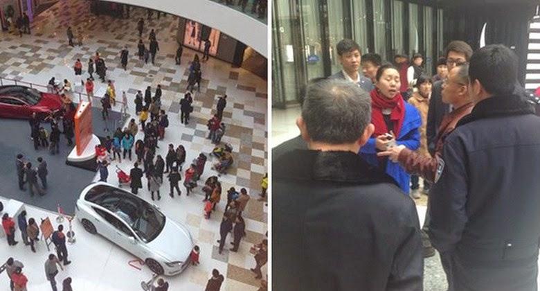 Balita Jalankan Mobil di Mall dan Menabrak Seorang Ibu Hamil