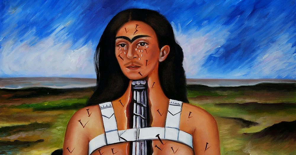 frida kahlo the broken column essay This essay example has been submitted by a student our writers can write a better one for you artist frida kahlo name the broken column representation the painting represents the pain she endured through out her life physically and emotionally.
