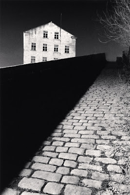 Bill Brandt's Snicket, Halifax, England 1986 © Michael Kenna