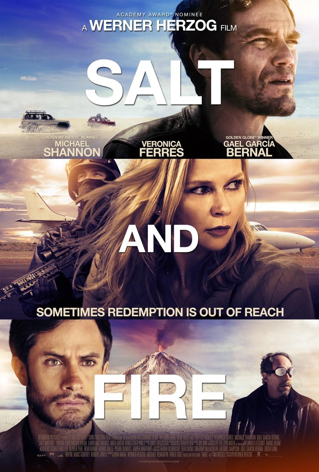 Salt and Fire Dublado