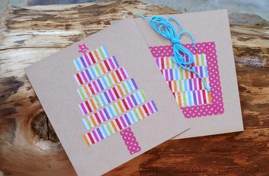 Tarjetas De Navidad Para Hacer Con Nios Haz Una Postal De Navidad - Tarjetas-navideas-para-nios
