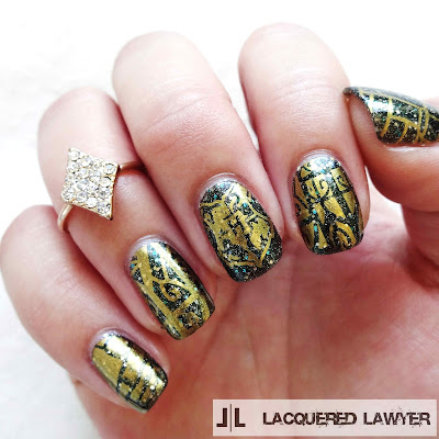 Lacquered Lawyer Nail Art Blog Hogwarts