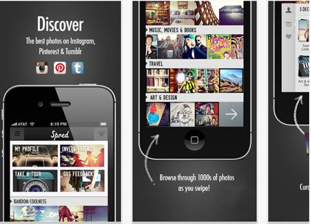 descarga tus imágenes de redes sociales con Spred - www.dominioblogger.com