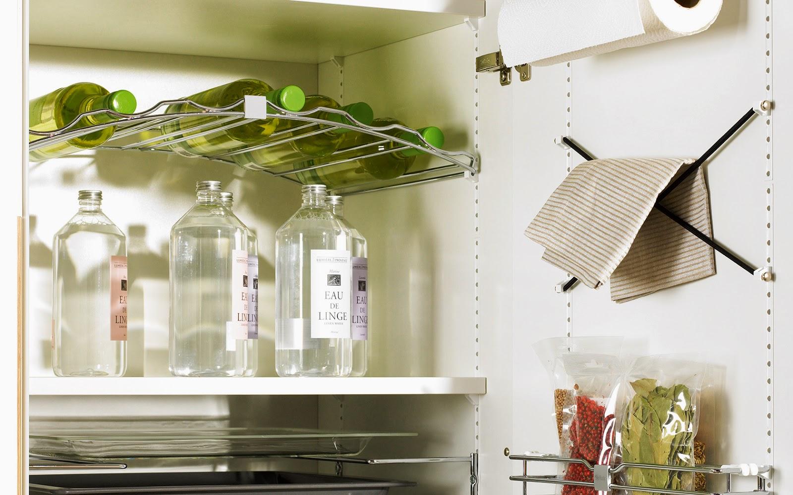 Ideas y accesorios para mantener la cocina en orden for Accesorios para cocinas pequenas