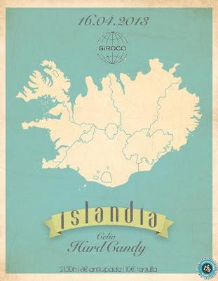 Islandia sala siroco