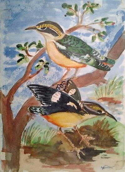 Watercolour Painting by Pratibha Kelkar (part of her portfolio on Indiaart.com)