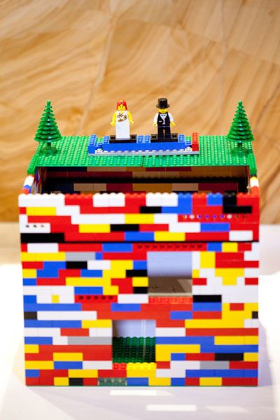 Lego Wedding Card Box