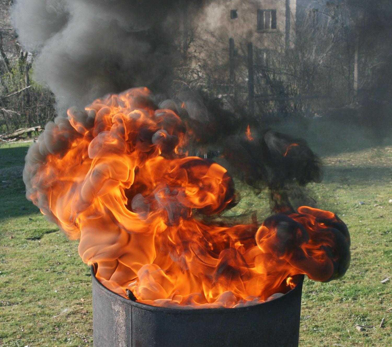 Fire sculpture 1