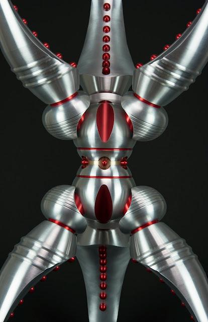 Metal Art, Machined Metal Sculpture, Machine art, Industrial Art