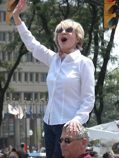 Florence Henderson in the IPL 500 Festival Parade