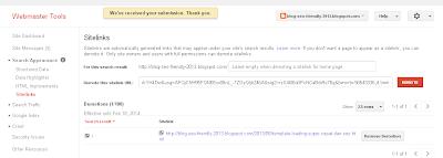 Cara paling mudah demosite sitelink