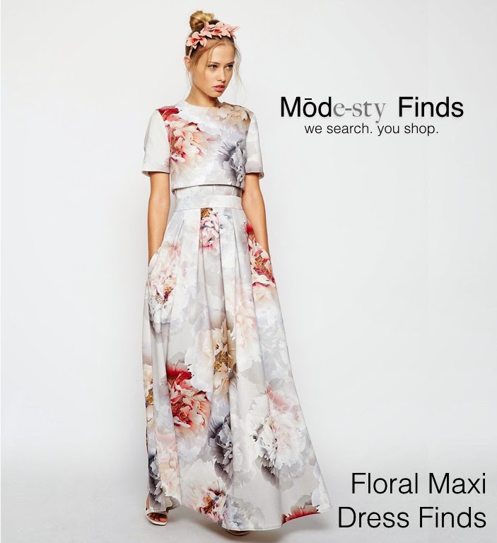 Mode-sty: Floral Maxi Dress Finds