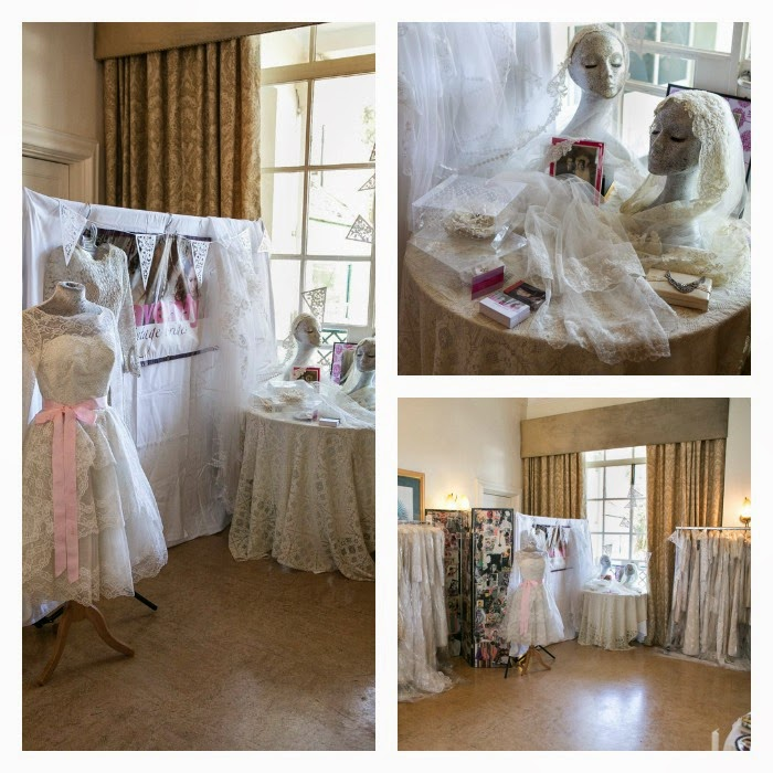 Heavenly Vintage Wedding Dresses at Bristol Vintage Wedding Fair 2014