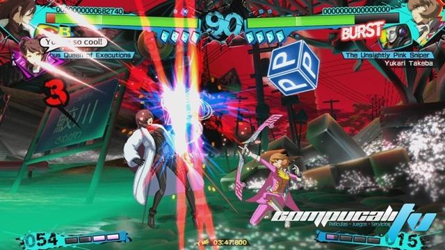 Persona 4 Arena Ultimax XBOX 360 Español Región FREE