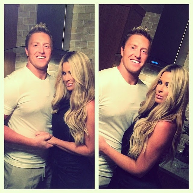Kim Zolciak shares a few pictures into her Instagram account on Wednesday, April 9, 2014