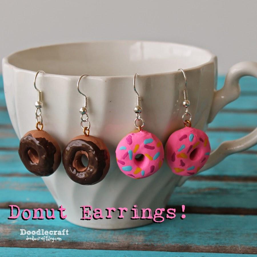 http://www.doodlecraftblog.com/2015/01/sweet-donut-earrings.html