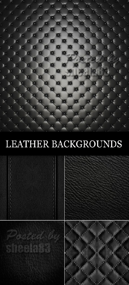 Dark Leather backgrounds Stock photos
