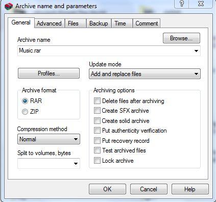Cara Membuat File Zip / Rar