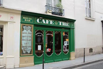 Café en el Barrio Le Marais. Blog Esteban Capdevila