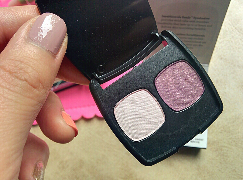 bareminerals ready eyeshadow 2.0 in muse and passion