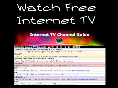 Have free adult internet live tv theme, will