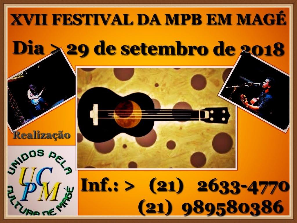 XVII FESTIVAL DA MPB EM MAGÉ