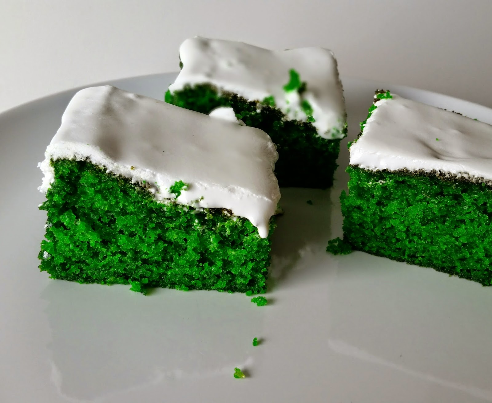 grøn kage opskrift