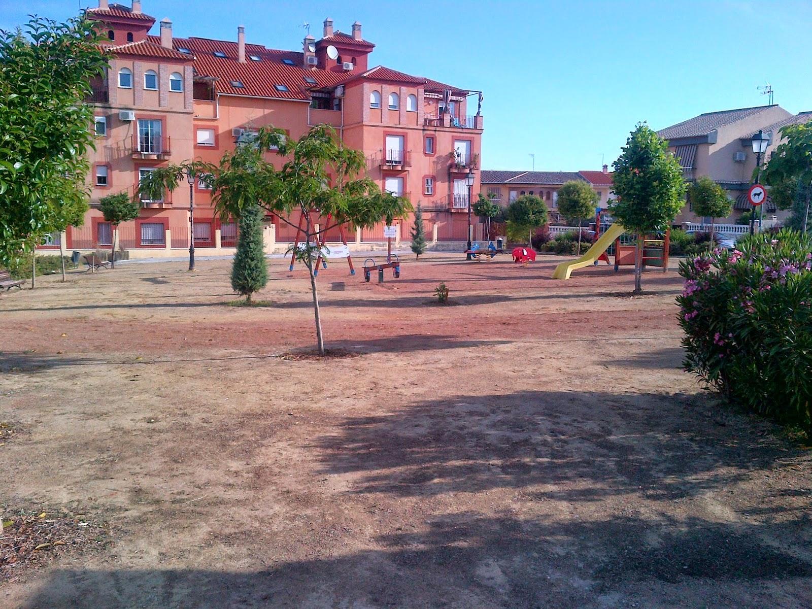 Parques y jardines de ogijares parque jutiliana arreglo for Parques y jardines