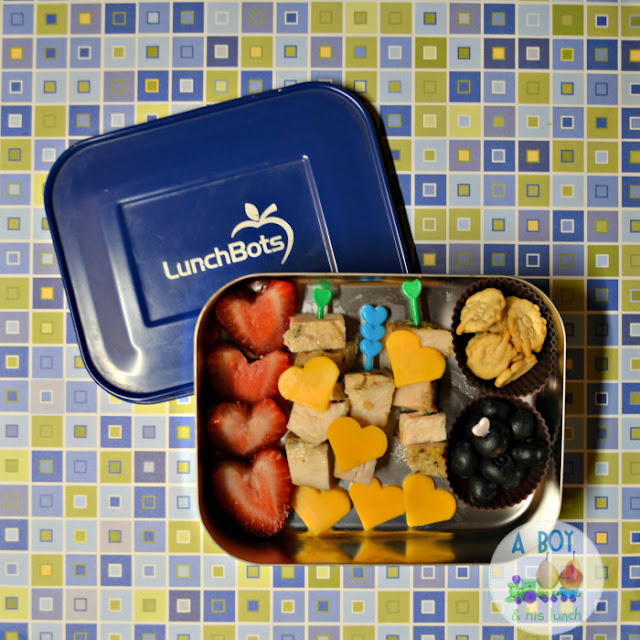 Toddler #lunch full of love! #bento