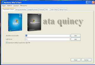 Cara termudah Install Windows 7 WindowsXP pake USB FlasDisk