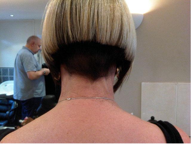 Short Hair Styles: Buzzed Napes