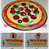 Para aprender y divertirse: Denominador y Numerador en porciones de Pizza