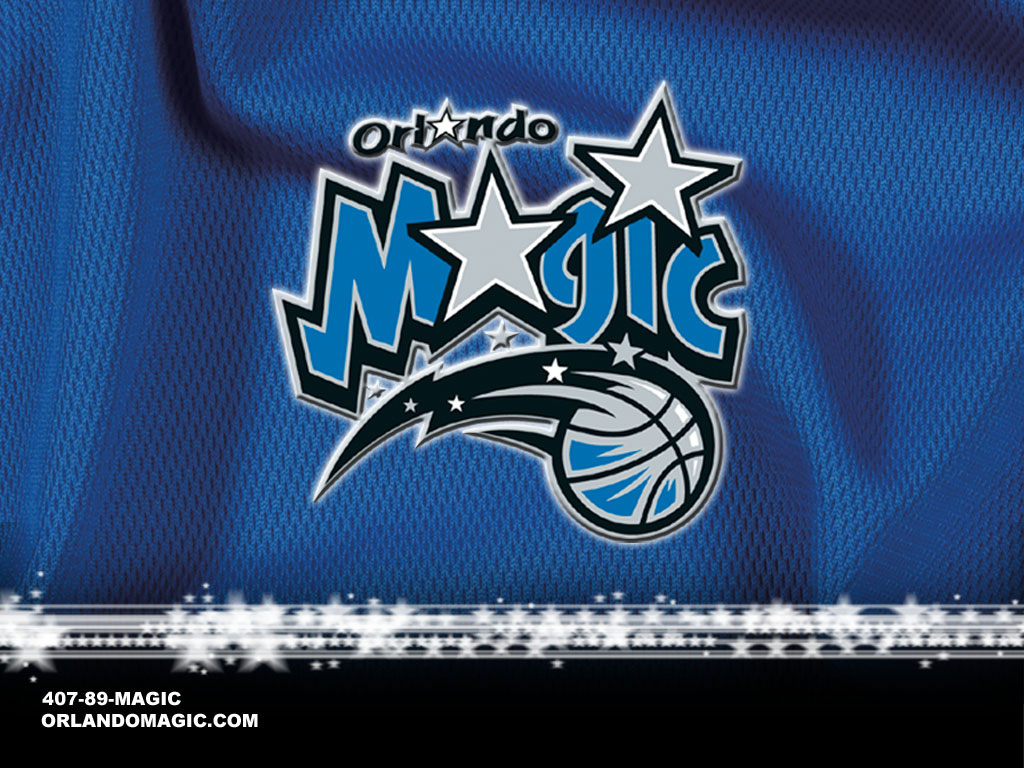 ORLANDO MAGIC NBA CLUB LOGO WALLPAPER