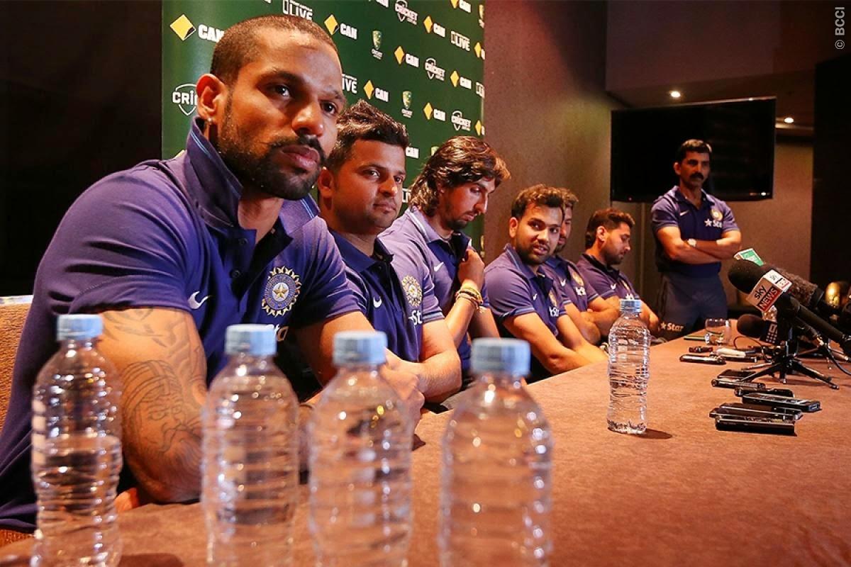 Vijay-Dhawan-Pujara-Rohit-Raina-Ishant-Australia-vs-India-Test-Series-2014-15
