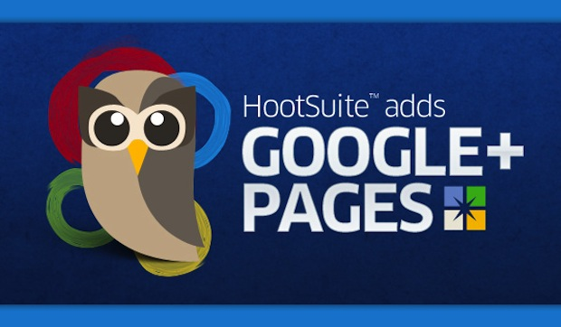 HootSuite Agrega Google+ Pages