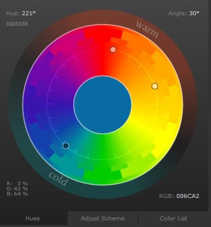 circulo de colores scheme