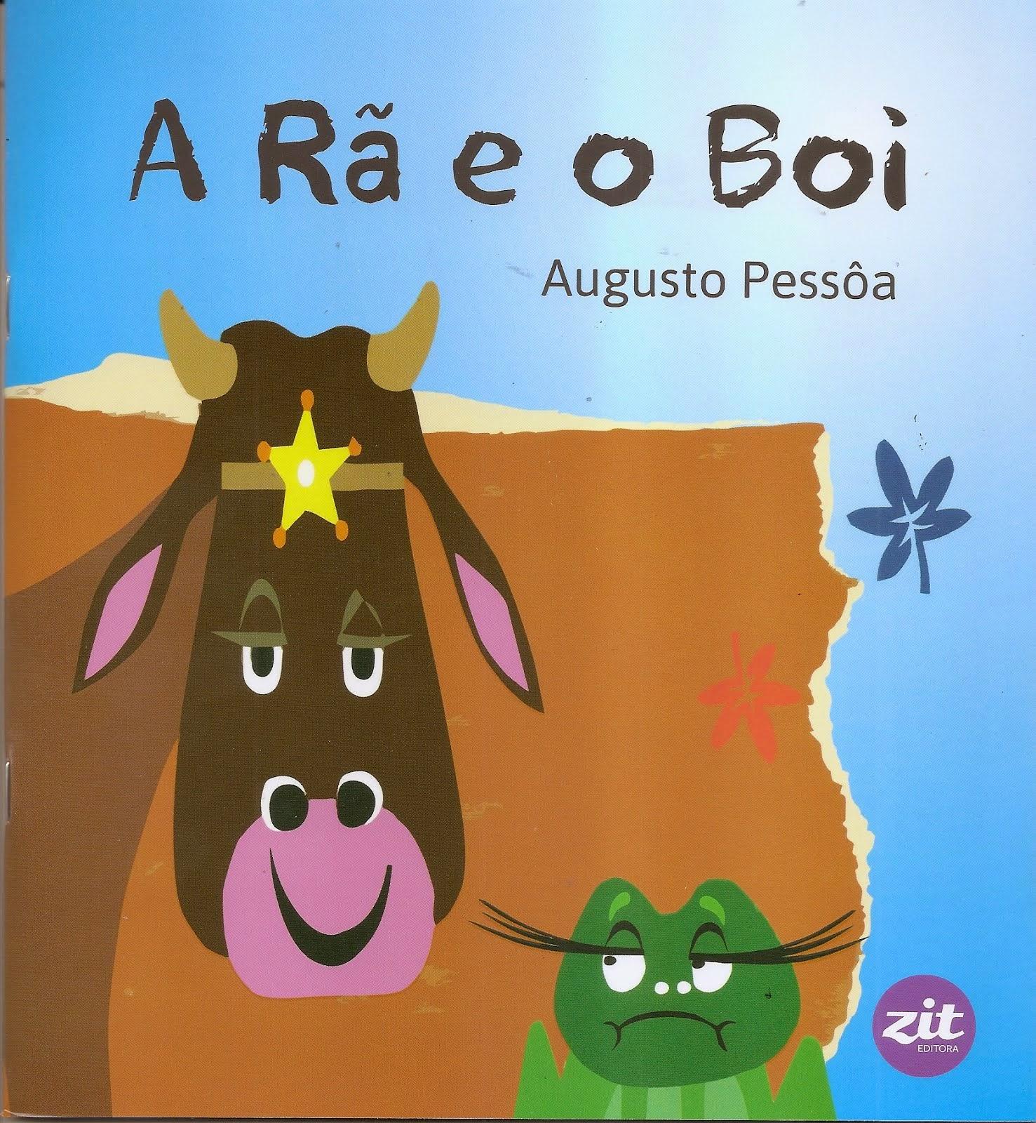 A RÃ E O BOI - livro