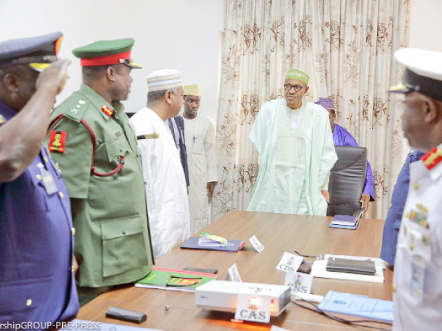 buhari sacks nigeria army chief