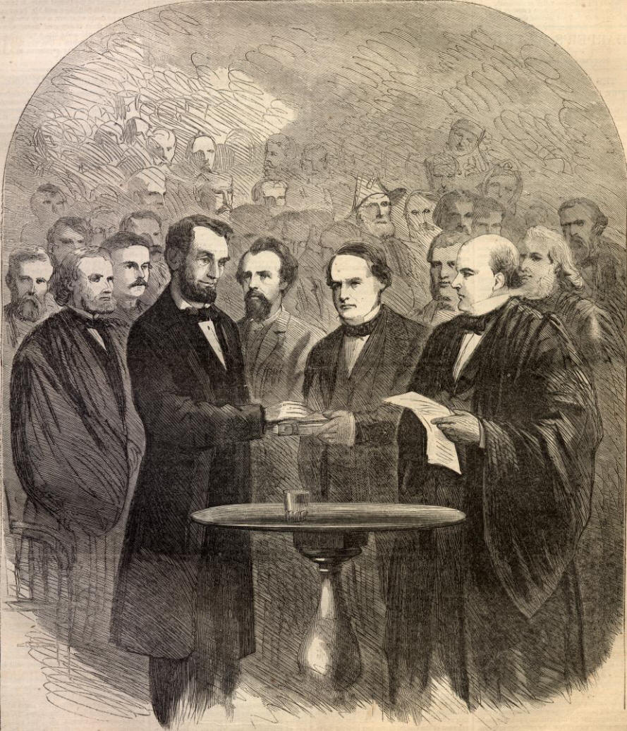 lincoln's second inaugural speech Washington dc, march 4, 1865 by abraham lincoln fellow countrymen: at this second appearing to take the oath of the presidential office, there is less occasion for.