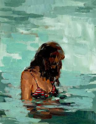 Summer Girl print by Clare Elsaesser