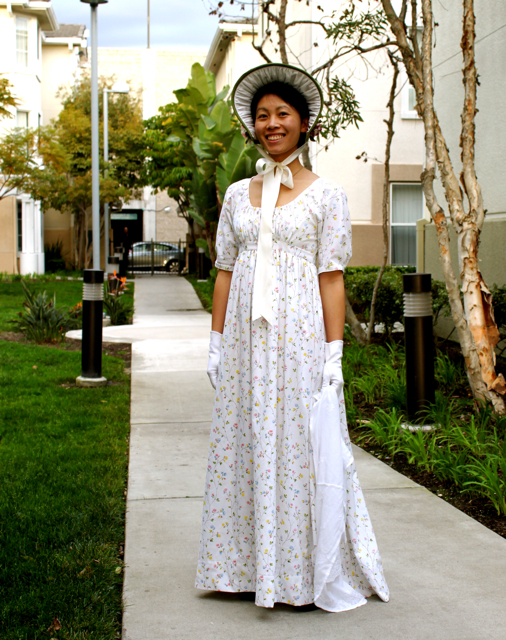 Cation Designs: A Regency Day Dress Made from Sheets