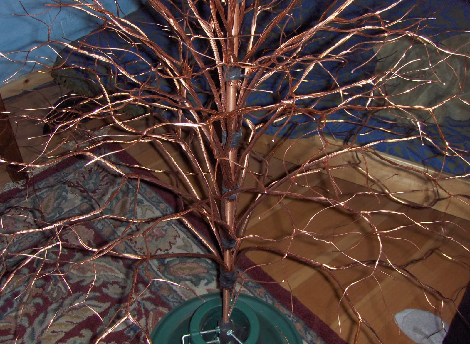 Make A Christmas Tree From Branches