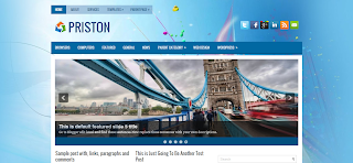 Priston Blogger Template is a clean and quality gallery style blogger template