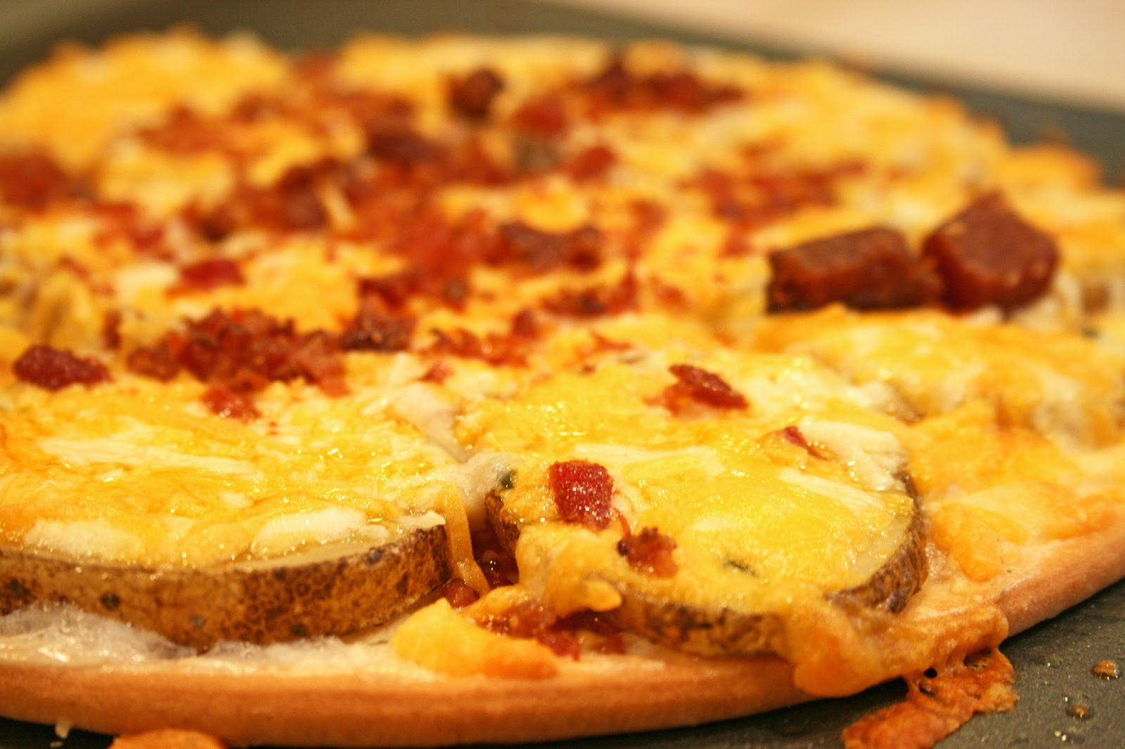 Lazy Gluten Free: Loaded Baked Potato Pizza