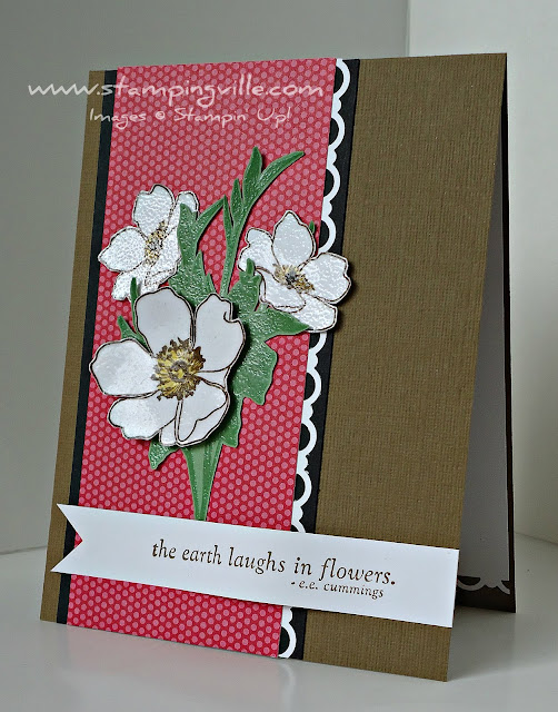 Fabulous Florets Rubber Stamp Set by Stampin' Up!