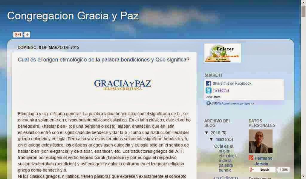 Congregacion Gracia y Paz
