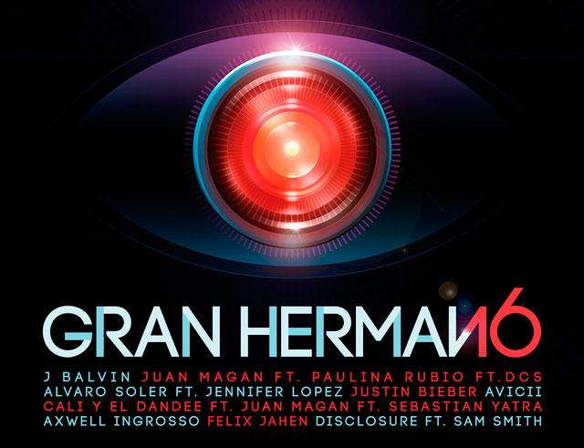 Carátula Disco Gran Hermano 16